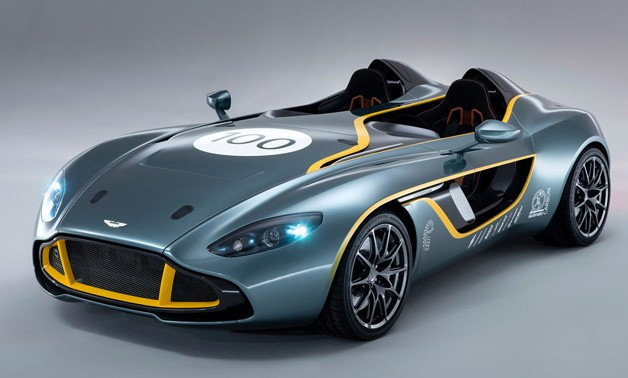 aston martin cc100 speedster фото